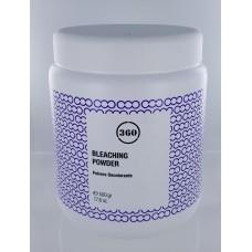 360 Антижелтая осветляющая пудра для волос 500 гр БАНКА без силиконов, глютена