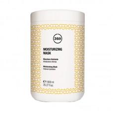 360 Увлажняющая маска для волос с кунжутным маслом и маслом тмина и Алое Вера 1000 мл